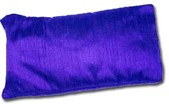 Purple Silk Eye Pillow