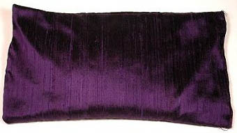 Large Silk Eye Pillow