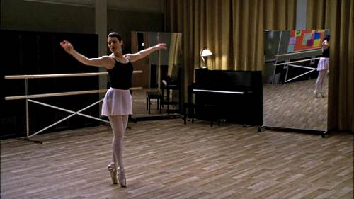 Portable Ballet Barre and Mylar Dance Mirrors were used on the TV show Glee!
