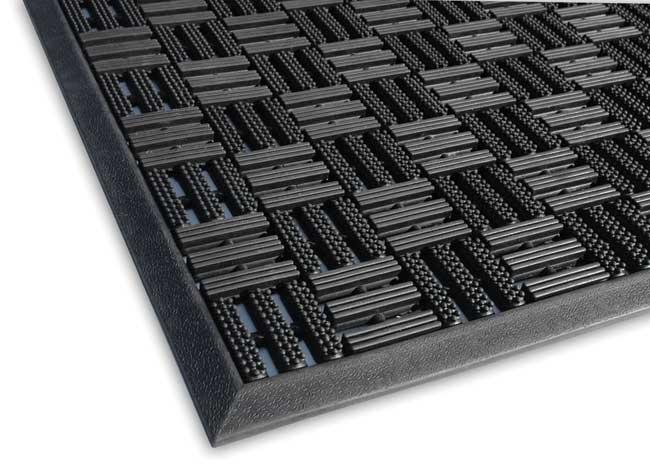 aquaflow outdoor commercial drainage entrance mat. Black Bedroom Furniture Sets. Home Design Ideas