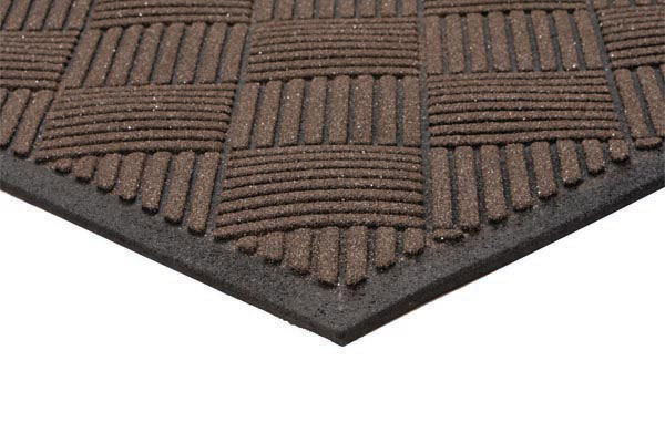 Outdoor Grit Top Scraper Entrance Mat