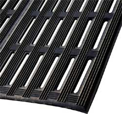 Recycled Rubber Mat with Drainage