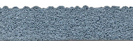 Cross Section of Pebble Textured Anti fatigue Mat