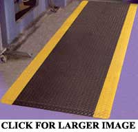 Safety Mat: Supreme Diamond Plate Safety Fatigue Mat