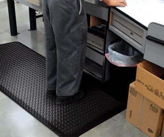 Diamond Plate Anti-Fatigue Mat