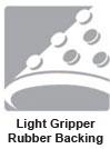 Logo Mat Gripper Rubber Backing