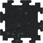 Green Fleck Rubber Flooring