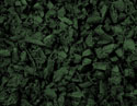 Rubber Mulch for Play Area and Landscaping - Forest Green