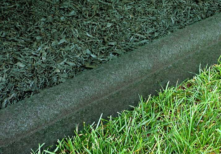 Rubber border landscape edging for Landscape edging