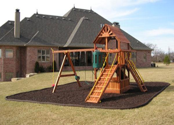 Office chair mat for carpet - Rubber Border Landscape Edging