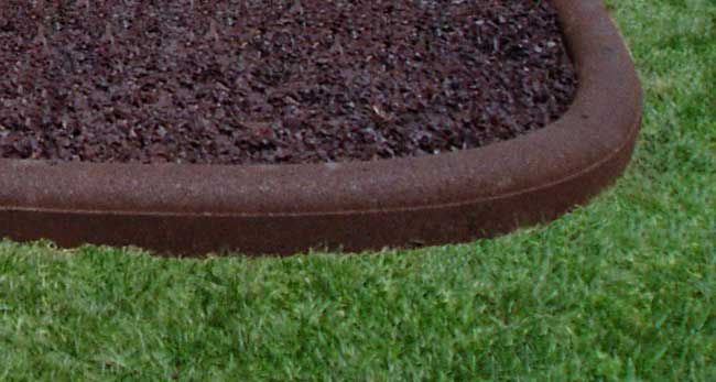 Rubber Border Landscape Edging