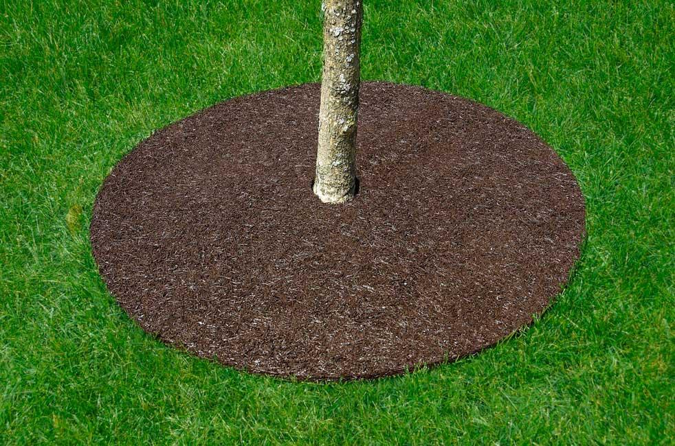 Tree Ring Mulch Mat
