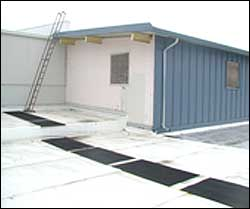 Rubber Roof Mats - Roof Walkway Pads For Safety