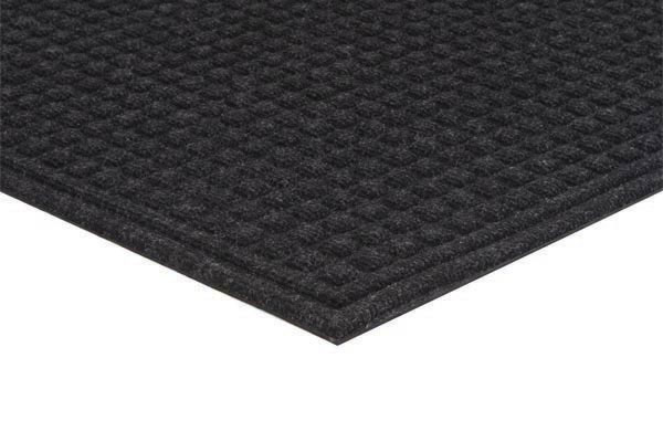 Eco Entry Mat With Squares Pattern Recycled Rubber