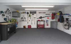 In Stock Carpeted Garage Floor And Basement Floor Foam Tiles