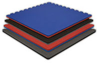 Exercise Flooring Interlocking Foam Floor Tiles