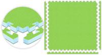 Lime Green Fitness Floor