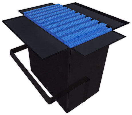 Shipping Case For Trade Show Booth Flooring
