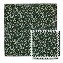 Military Theme Kids Playroom Flooring