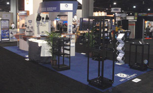 Economical Flooring For Trade Show Booth With Carpeted Top