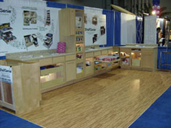 Trade Show Booth Flooring - SoftWood