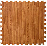 Foam Floor Tiles - Wood Laminate SoftWood