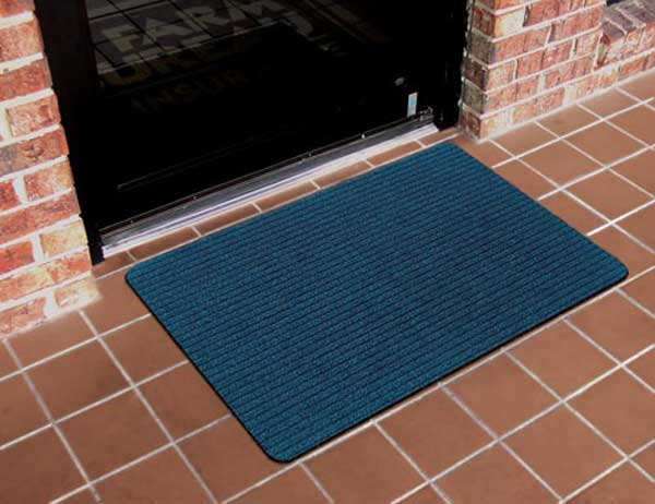 Low Cost Tri Rib Front Doormat 12 Pack