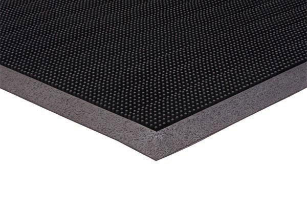 Trooper Rubber Mat Scrapes Mud Or Snow Off Shoes