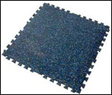 Eco Flooring - Recycled Rubber Interlocking Tiles