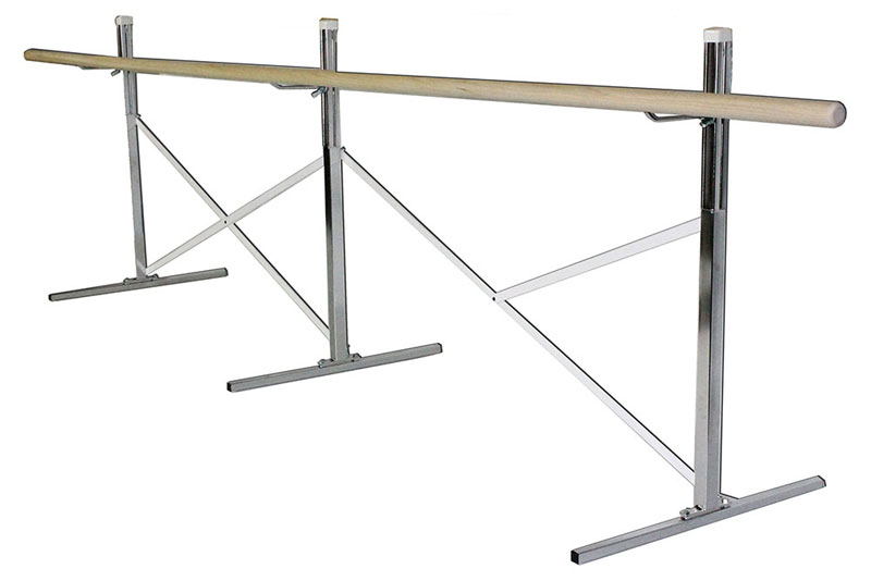 Wall Mounted Ballet Bar Fixed Position With Four