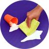 Easy-to-clean foam floor puzzle mat