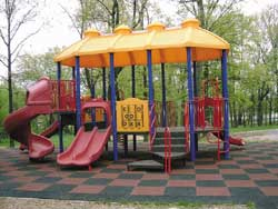 Bounce Back Rubber Playground Surface