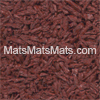 Bounce Back Rubber Tiles in Terracotta Red