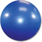 65cm Blue Exercise Ball With Pump
