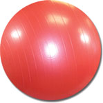 75cm Red Exercise Ball