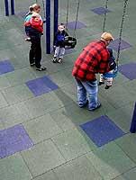 Interlocking Playground Surface