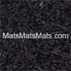 Solid Black Rubber Tiles