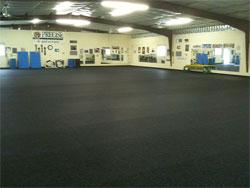 Heavy Duty Rubber Flooring Recycled Rubber Rolls