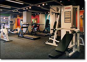 Exercise Equipment Floor