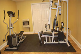 Rubber Gym Flooring - Rubber Tiles