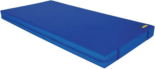 Blue 8 inch practice mats