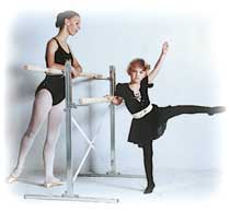 Home Ballet Bar or Dance Studio Ballet Barre