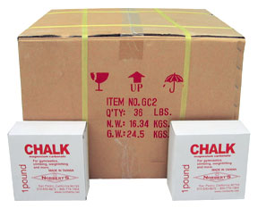 Chalk For Gymnastics - Case of Chalk or One Pound Block of Chalk