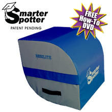 Smarter Spotter Handspring Machine in Blue
