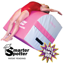 Pink Handspring Trainer / Tumbling Machine