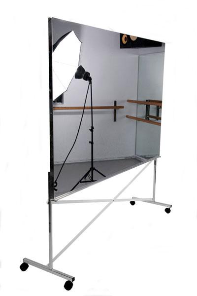 Glassless mirrors mylar mirrors make the ideal dance mirror for Mylar flooring