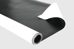 Vinyl Dance Floor White Black