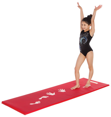 Cartwheel Mats and Gymnastics Balance Beam Mat