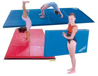 Gymnastic Tumbling Mats For Home School Or Gym Use