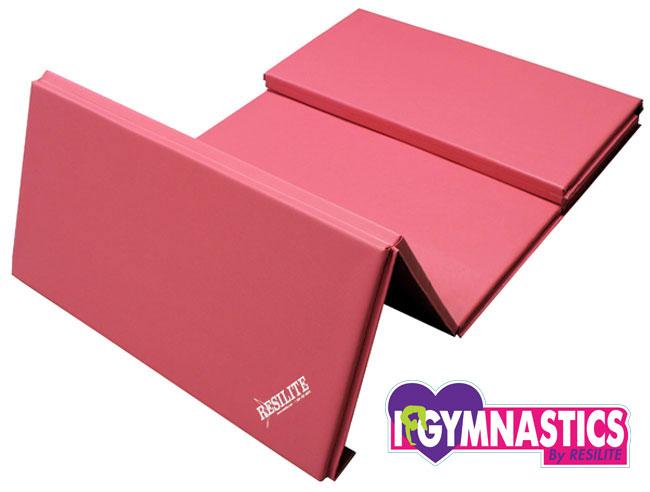Pink Gymnastics Incline Mat Gymnastics Wedge Mat